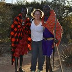 A warm Masai welcome from your friendly hosts