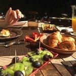 La Magnanerie's beautiful Breakfast