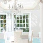 Dining room poolside