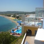 Вид из Mitsis Summer Palace