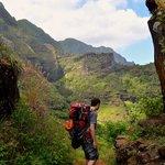 Kalalau trail, just beyond Space Rock