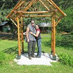 Cute little gazebo for pictures