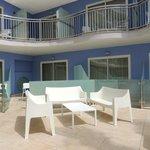 Habitaciones con solarium compartido