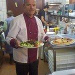 le Patron en cuisine