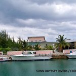 Sunn Odyssey Divers Boat Dock