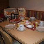 Frische Brötchen, frische Milch und Eier .....