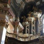 Détails de l'orgue à l'étage