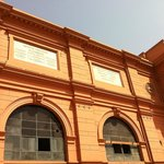 The Egyptian Museum in and out.