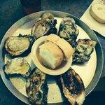 Oyster sampler - YUM!