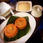 Garri Ijebu and Moi Moi at Terra.Proudly Nigerian Meal