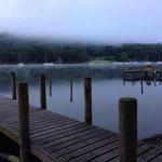 Misty lake 4:50am