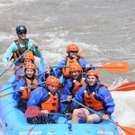Rafting the Arkansas River with Wes