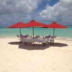 High Cay lieu du déjeuner