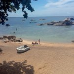 Ao Tanote: on the beach