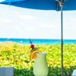 The Seagate's private Beach Club