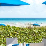 Dining at The Seagate's private Beach Club