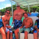 Our family on the snorkel trip