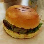 Boss Burgers classic burger