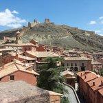 Vistas Albarracin desde la catedral