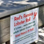 Red's Famous Lobster Roll