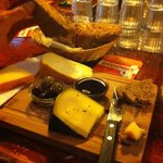Lovely cheese tray