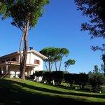 View of Villa Chauvet