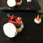 Dessert jour : feuilletté fruits rouges