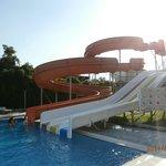 mini auqapark czyli mniejszy z basenow