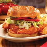 Drew's Devilishly Delicious Fried Chicken Sandwich