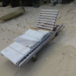 """One of the battered filthy """"loungers"""""""