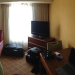 Panoramic view of room