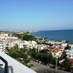 Sea View: виз из номера на 8ом этаже