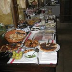 Another view of the breakfast spread