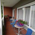 Balcony adjacent to room