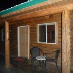 The cabin in the dark