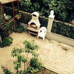 vista giardino dalla camera