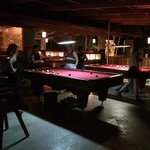 Kids playing pool