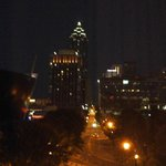 Atlanta at night what a view