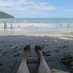 Tulemar private beach