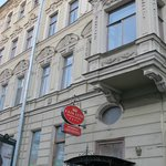 The 19th century facade