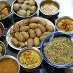 Traditional Rajasthani meal