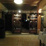wonderful wine selection, choose yourself or let your waiter select a wine