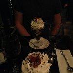 our free dessert!