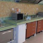 Cucina interna attrezzata x bimbi piccoli ottima
