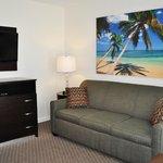 Front room of 2 Room Efficiency oceanfront
