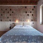Torre colombaia: camera con bagno