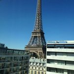 Vista do 11º andar do hotel