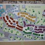 Plan du villagio