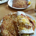 The 2nd Street Burrito w/hash browns