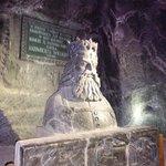 Polish king made fom Salt